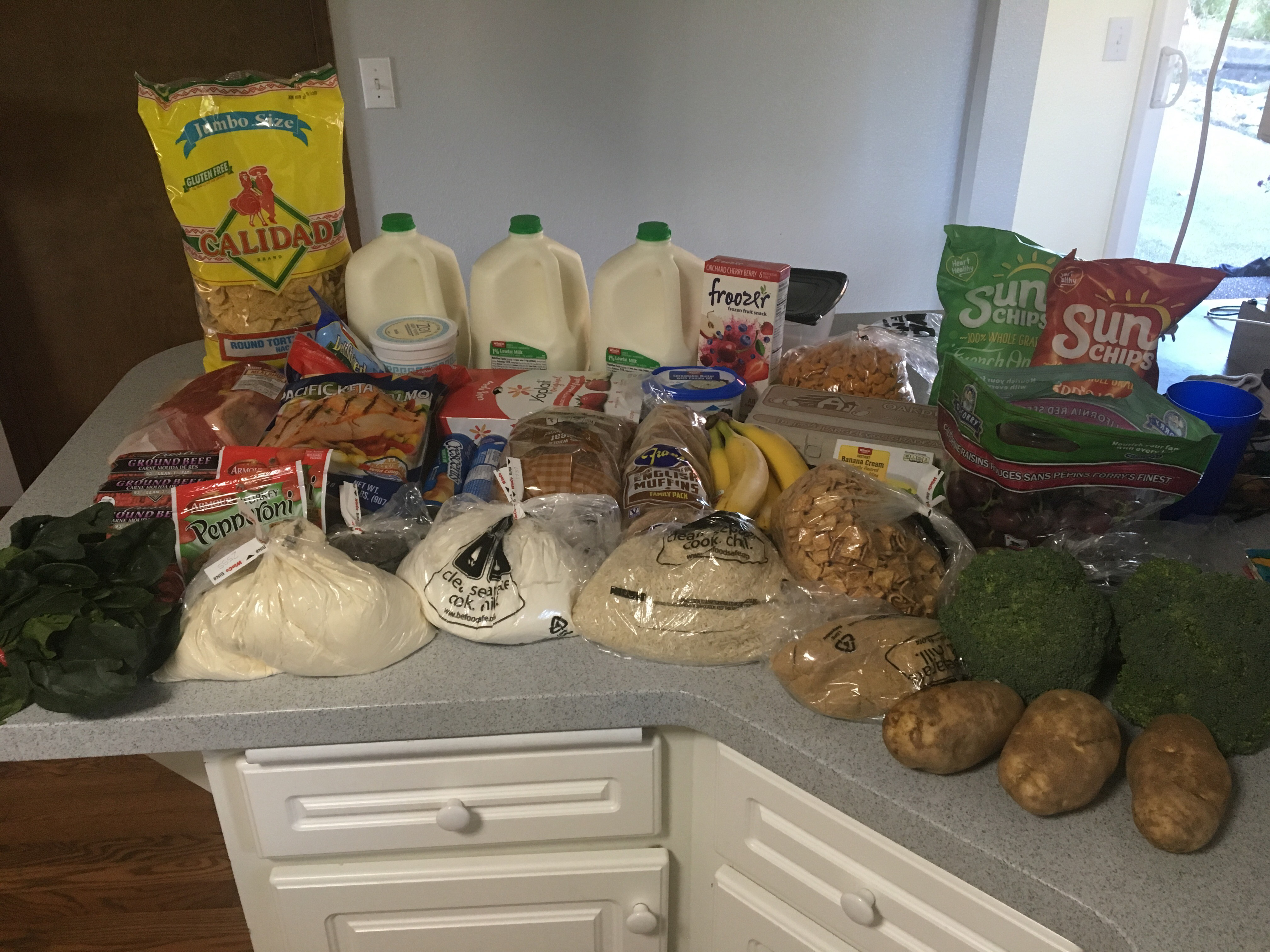 cheap healthy food for a family of four