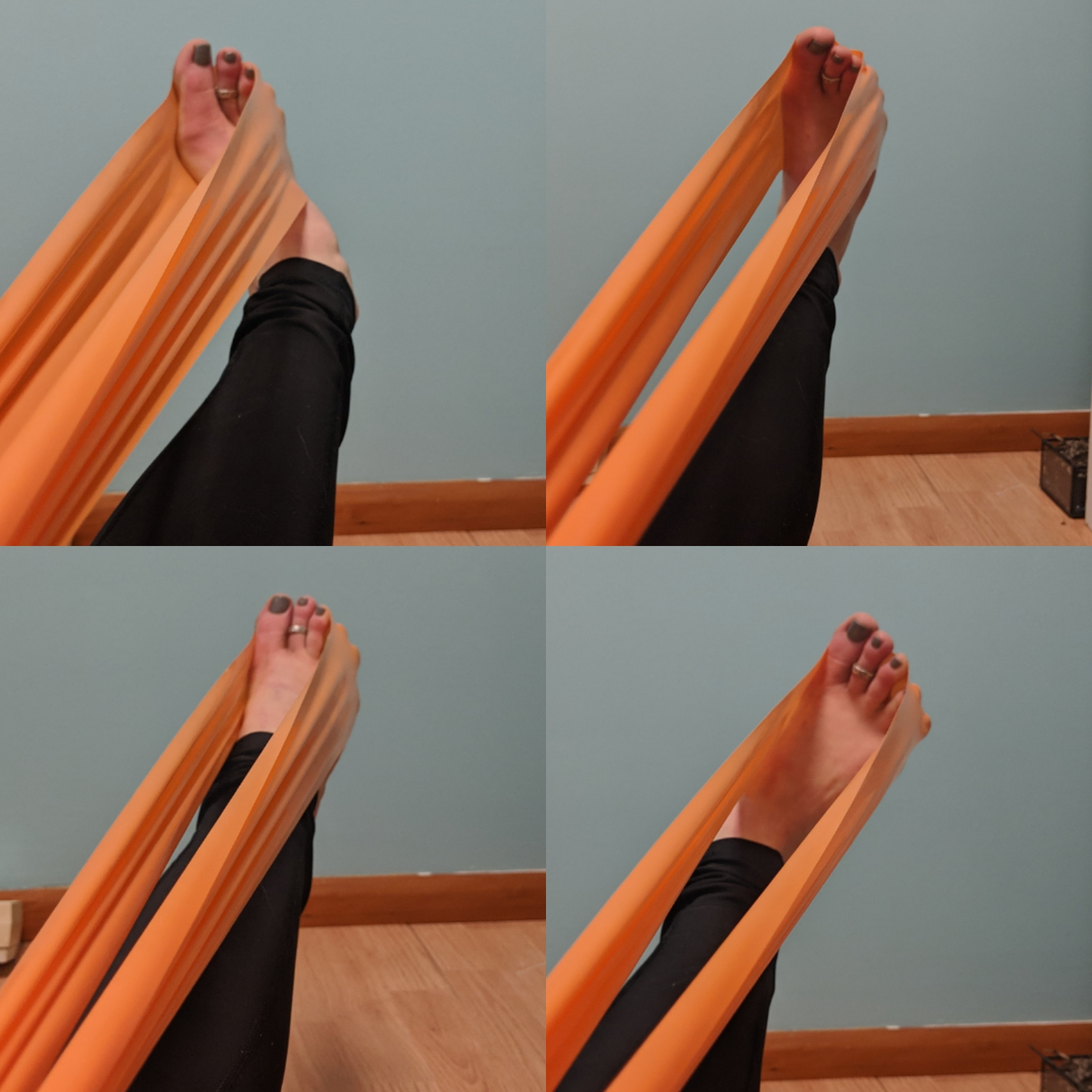 ankle rotation exercise