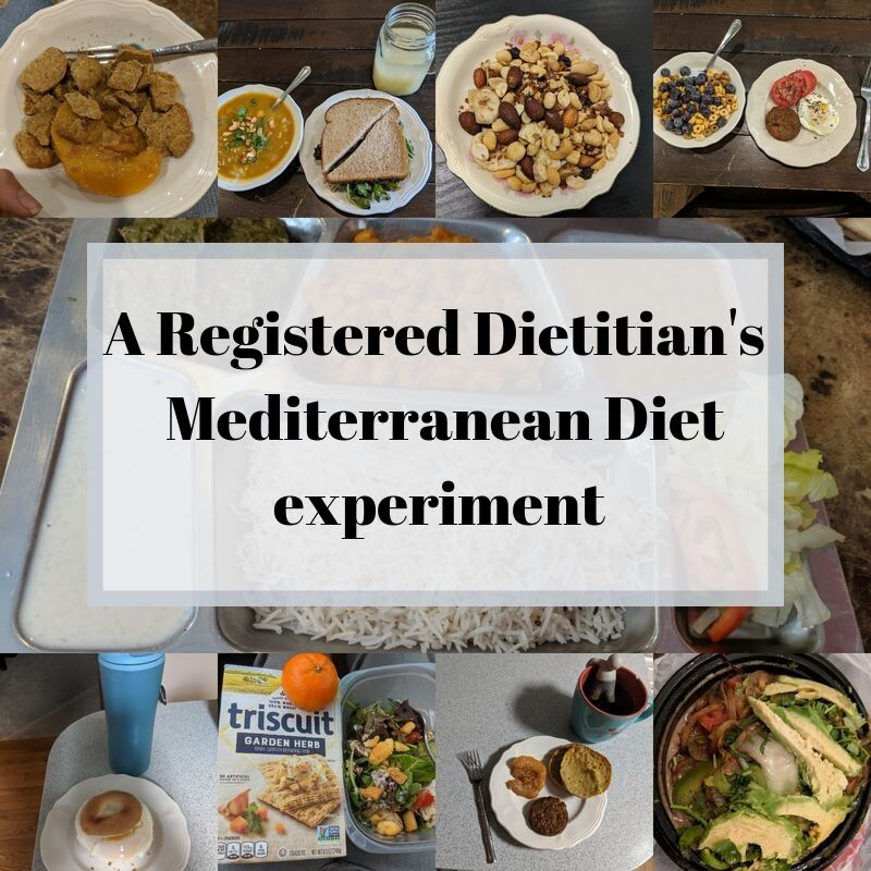 what it's like to follow the Mediterranean diet