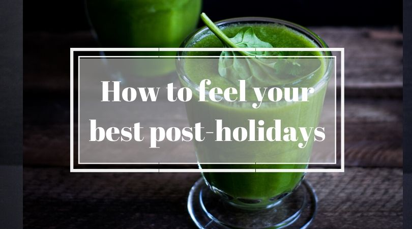 how do I detox after the holidays